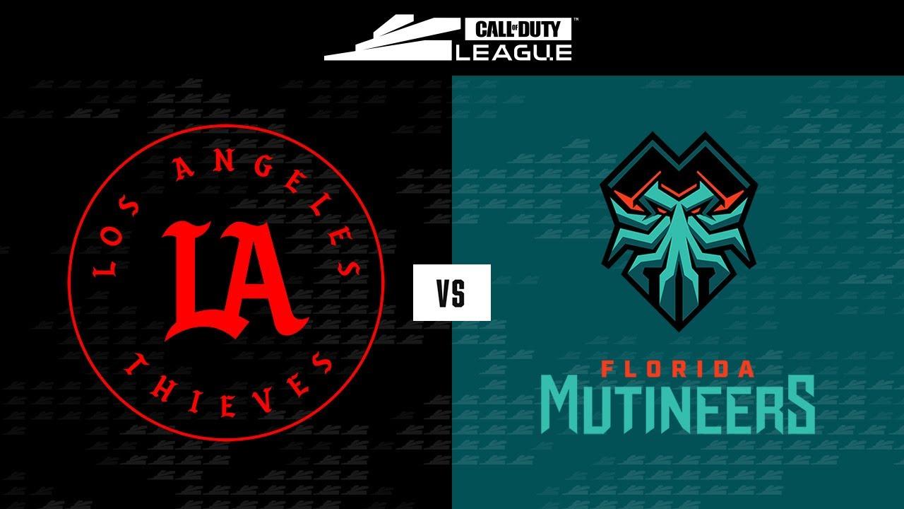 Winners Round 1 | LA Thieves vs Florida Mutineers | Stage III Major Tournament | Day 1