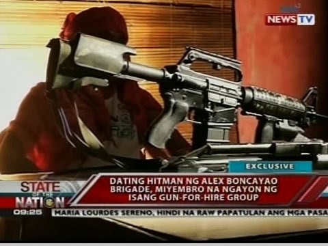Dating hitman ng Alex Boncayao Brigade, miyembro na ngayon ng isang gun-for-hire group