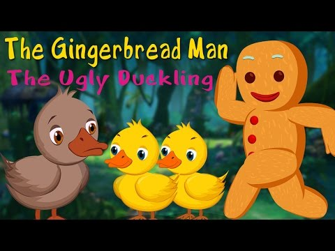 The Ugly Duckling | The Gingerbread Man  Animated Fairy Tales for Kids  Compilation