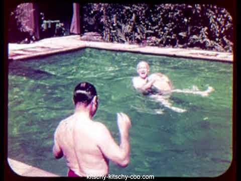 Esther Williams Swimming Pool, 1958 Sales Promo