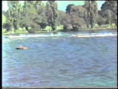 Speedboat Racing April 1986 Albert Park Lake Part 1