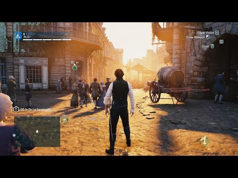 ASSASSIN CREED UNITY | GTX TITAN X | 4K UHD 3840X2160 | FRAME RATE TEST| 5960X
