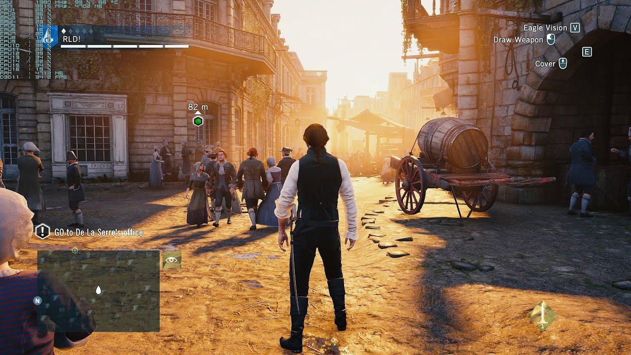 Assassin Creed Unity Gtx Titan X 4k Uhd 3840x2160 Frame Rate Test 5960x Youtube