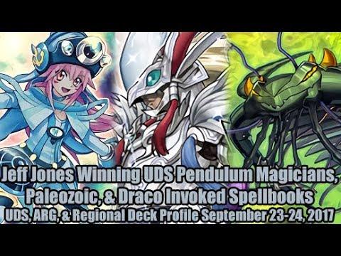 Jeff Jones Winning UDS Pendulum Magician & More - Report September 23-24, 2017 Deck Profiles