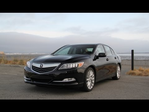 2014 / 2015 Acura RLX Review And Road Test With AcuraLink Review