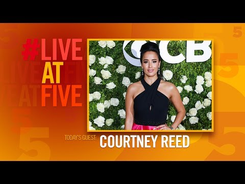 Broadway.com #LiveatFive with Courtney Reed of ALADDIN