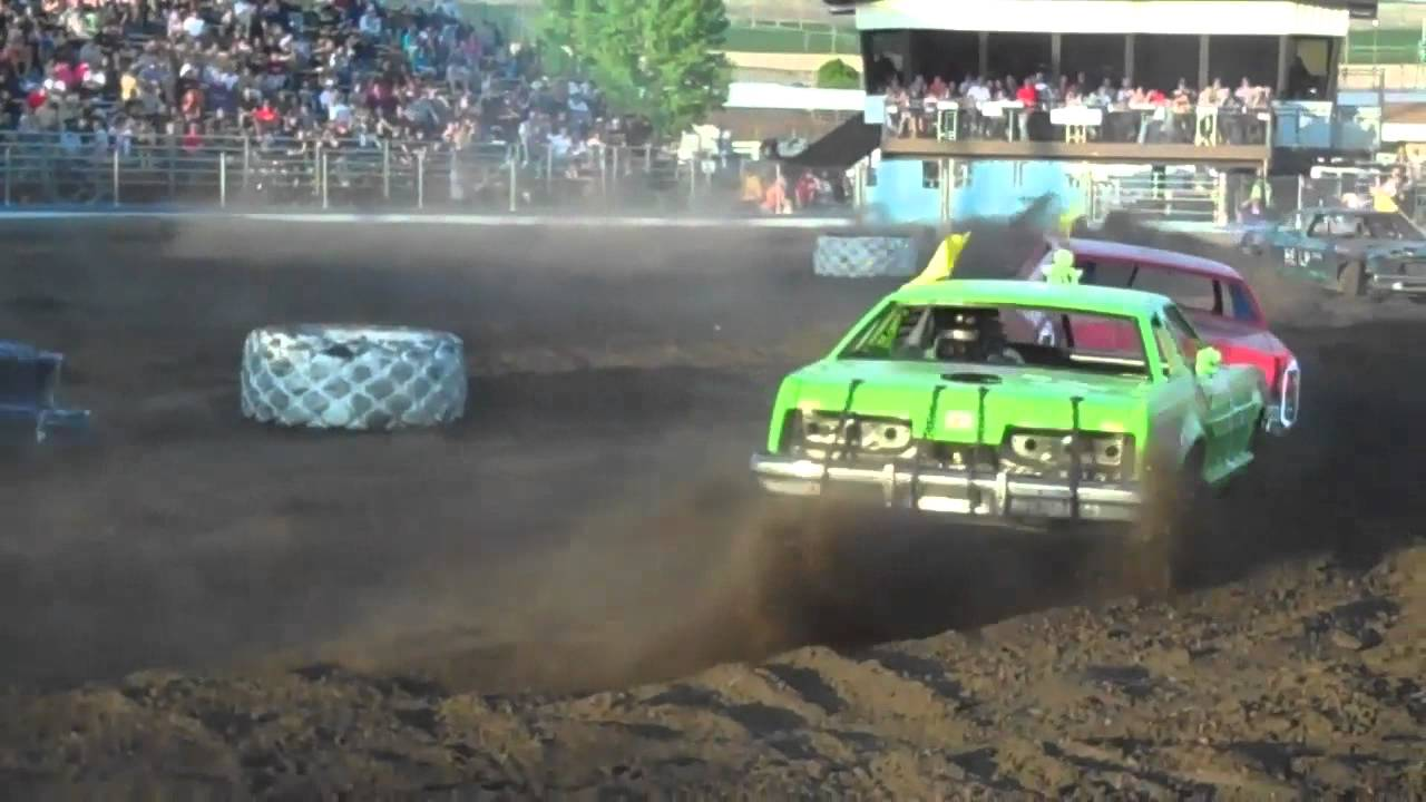 Figure Racing Demolition Derby Style Lewiston Smash Bash Youtube