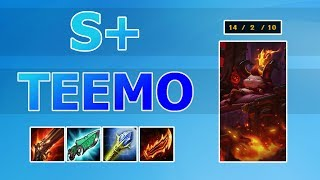 HOW TO GET S+ TEEMO (Perfect Teemo Game) thumbnail
