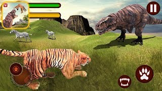 Tiger vs Dinosaur Adventure 3D - Android Gameplay |Newbie Gaming