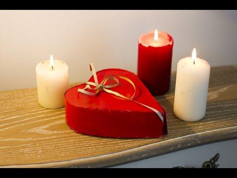 Réaliser Une Boite à Cadeaux En Forme De Coeur Pour La St Valentin