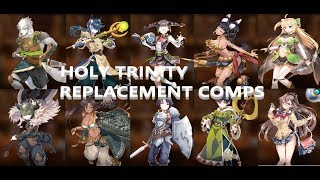EPIC SEVEN - F2P HOLY TRINITY REPLACEMENT COMP/COMPS THEORY-CRAFTING