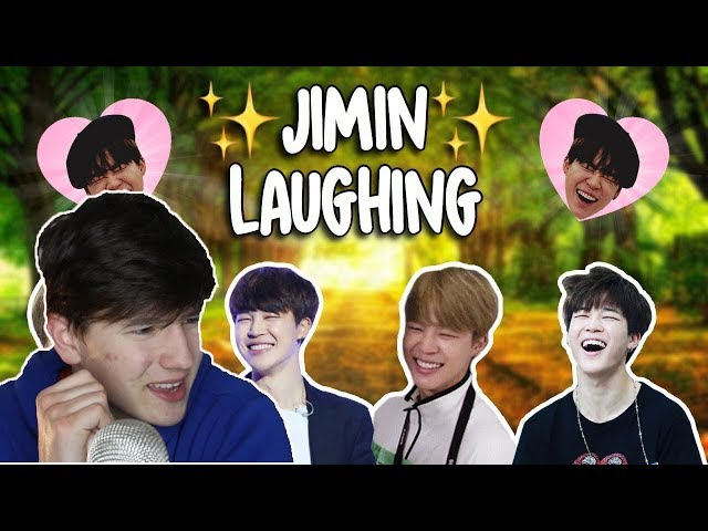 UMM | Jimin laughing (for 10 minutes) REACTION | TRY NOT TO LAUGH CHALLENGE BTS EDITION