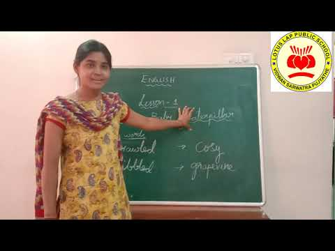class-ii-english-lesson-1-video-1