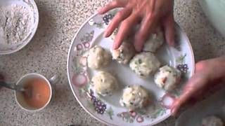 Once A Week Kitchen Crispy Crab Cakes.wmv
