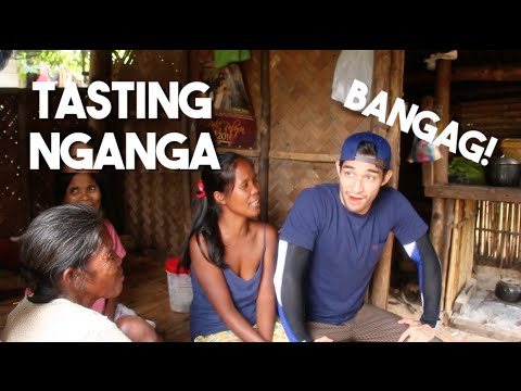 Tasting Nganga with Filipino Tribes of Palawan (IT WAS INTENSE!)