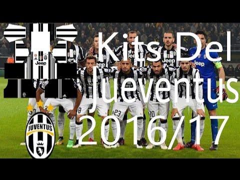 1a7c4f96e92 Kits Juventus 2016 17 Para Dream League Soccer 16 - YouTube