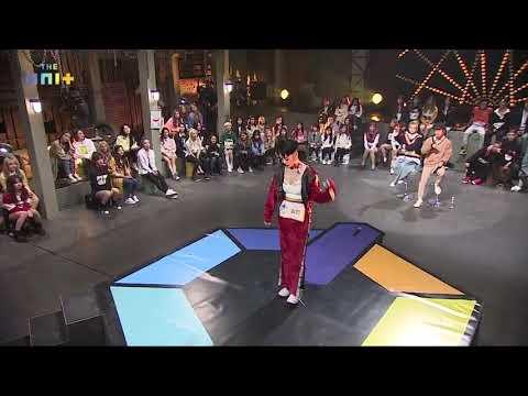 [THE UNIT](Battle Stage) Amazing Rap Hyosun(H.U.B) Full ver.