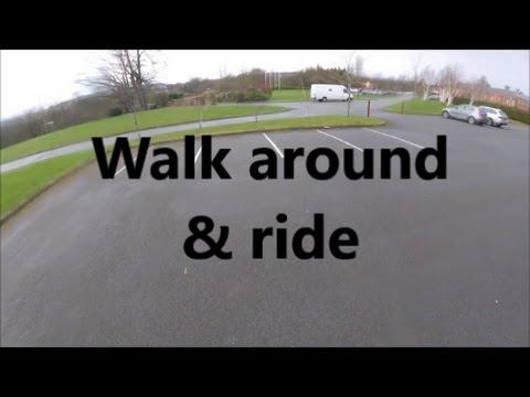 Yamaha YZF-R125 | My new bike | Short walk around & ride |
