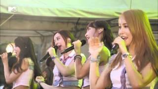 151003 Mtv Japan Zushi Fes15 KARA -  Summergic GoGo SUMMER