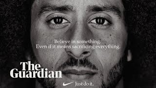 Colin Kaepernick: from kneeling quarterback to Nike poster boy