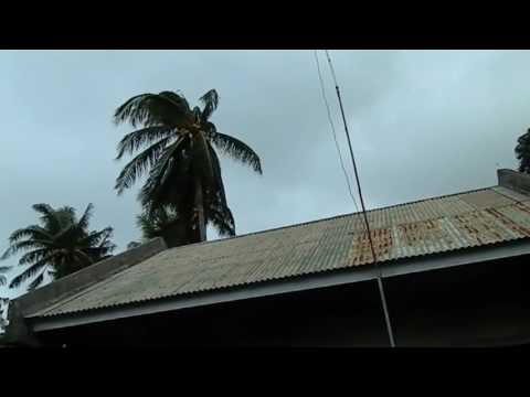 Strong Typhoon Coming in Philippines