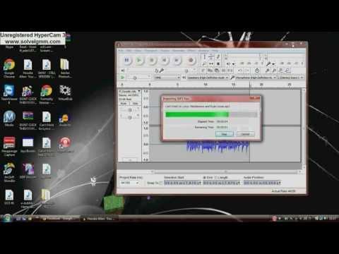 Audicity Tutorial (free music mixer)