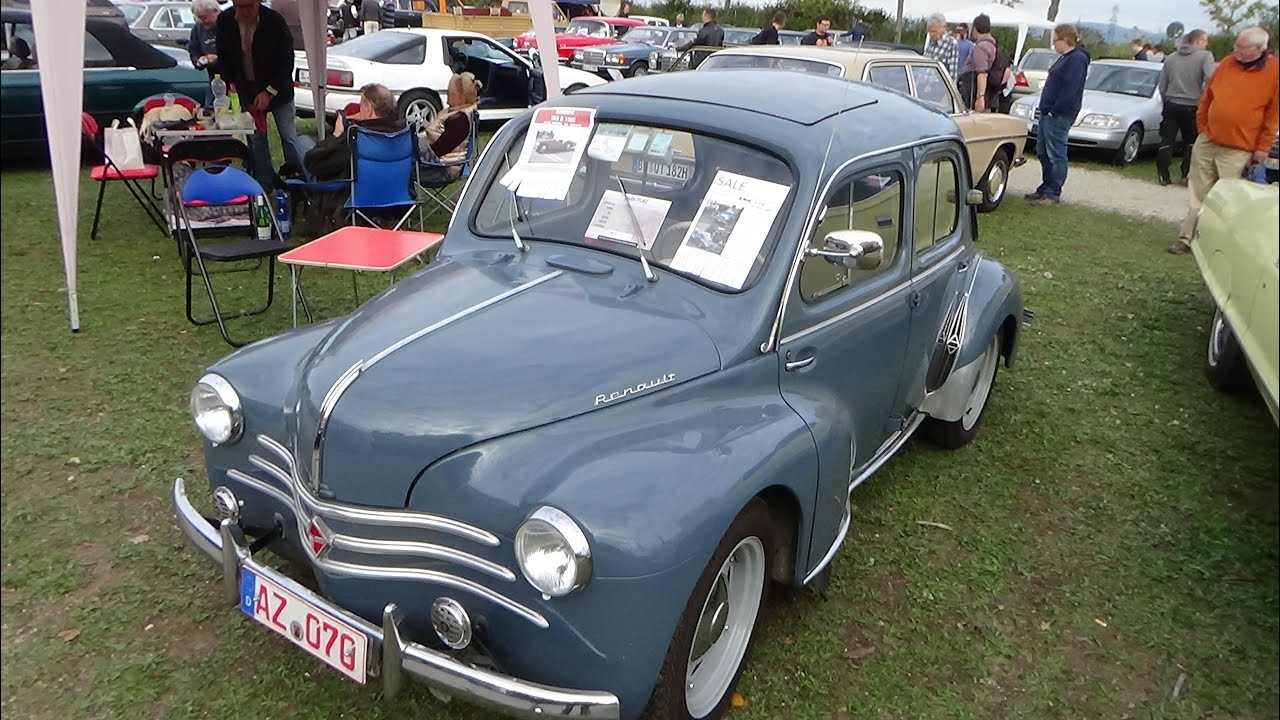 1957 renault 4cv veterama mannheim 2015 youtube. Black Bedroom Furniture Sets. Home Design Ideas