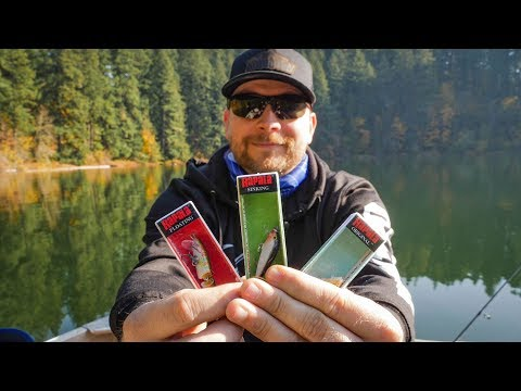 TOP 3 Rapala Lures For TROUT FISHING In Lakes Or Ponds (TROLLING TIPS!)