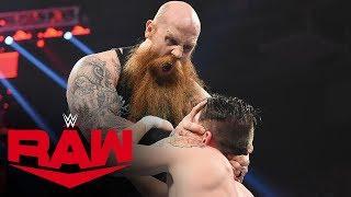 Erick Rowan goes berserk on cage-robbing competitor: Raw, Dec. 9, 2019