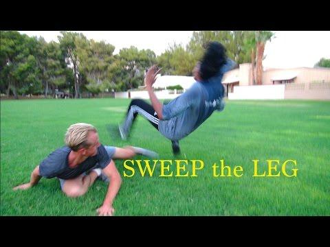 Sweep The Leg - Tiger Tail Sweep