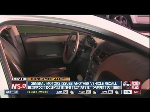 General Motors recalls 1.3M vehicles over steering issue