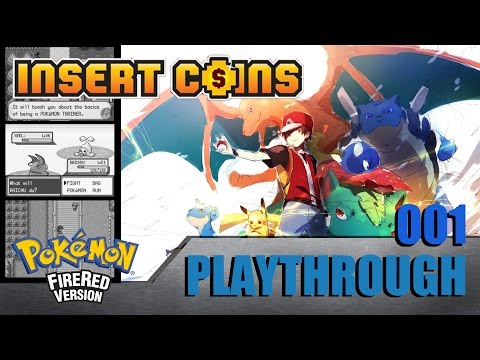 [Playthrough] Pokémon FireRed Nuzlocke Challenge #001 - Digimon x Pokémon