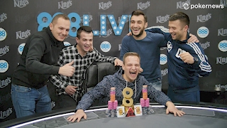 Catalin Pop Wins 888Live King's Festival