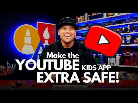 How To Make The YouTube Kids App Extra Safe