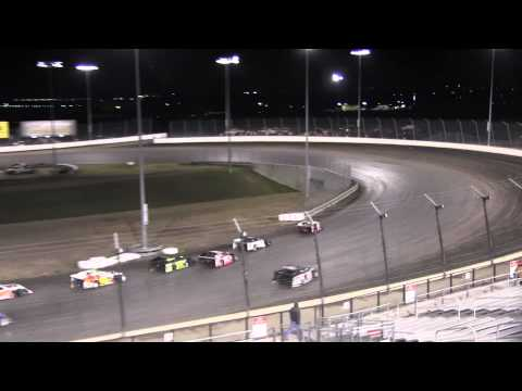 Texas Motor Speedway Dirt track 3 7 14 Outlaw Mod heat 3