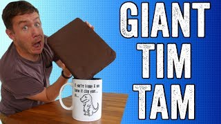I had many requests to do this, so here is a Giant tim tam (complet...