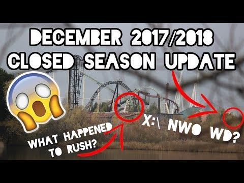 Thorpe Park Resort Closed Season Update December 2017