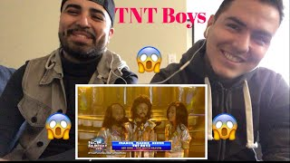 """Reaction with my  Brother TNT Boys Performance to Bee Gees """"Too Much Heaven"""""""