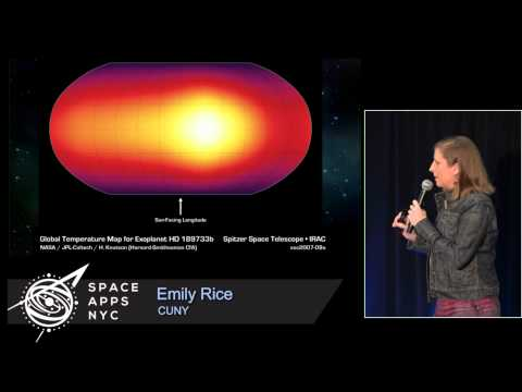 Space Apps NYC 2015 - Emily Rice on Alien Atmospheres