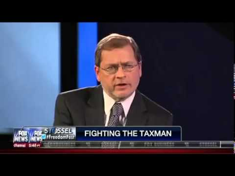 John Stossel Interviews Grover Norquist at Freedom Fest