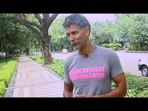 Milind Soman on ironman triathlon experience
