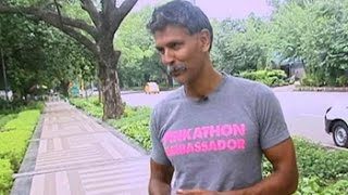 Milind Soman on ironman triathlon experience