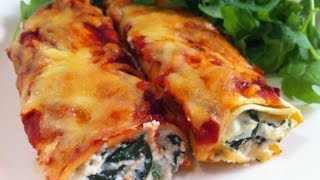 Cannelloni: Spinach And Ricotta