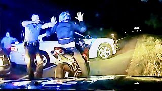 State Police Chase Man Riding Yamaha YZF-R1 Until He Runs Out of Gas