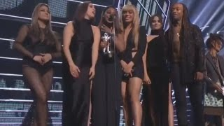 Fifth Harmony Win VMA For Best Collab & Anger Beyonce Fans