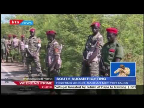 South Sudan starts to fight on the eve of their 5th independence