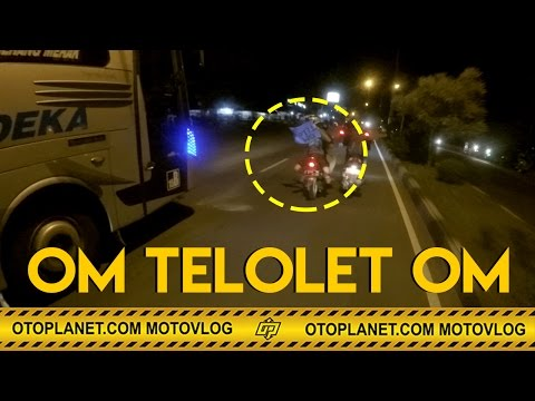 MotoVlog#5 - Om Telolet Om | Anti Mainstream Kejar Kejaran Sama Bus