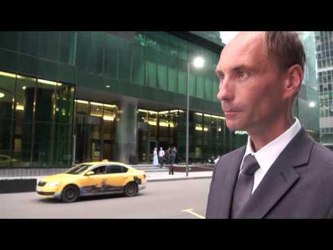 Разговор с охранником в Москва-Сити