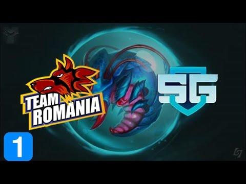 Highlights Romania vs SG e-sports  - Dota 2 WESG