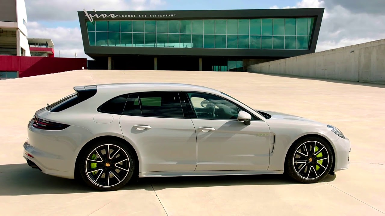 2019 New Porsche Panamera Sport Turismo In Crayon Video
